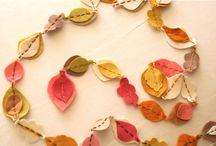 Cute Fall Decor / by Jenn Hunt