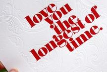 letterpress love / by nadia