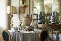Dining Rooms ❤ / by Linda L. Floyd Interior Design