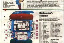 Backpacker checklist / by Emberlit Stove_Merkwares LLC