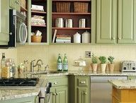Kitchen - Green Colors / by Casey Ray