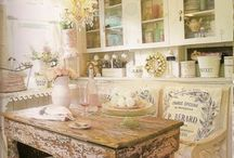 Shabby Chic and Cottage Spaces / This board has so much girliness in it! The prettiest spaces I would love to re-create and be in, is here! LOVELY!! / by Jules Aviles