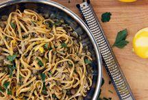 Recipes Pasta / by Tammy Kulcsar