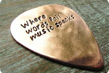 Music of My Life / Music is what feelings sound like. - Anonymous / by tanya m. smith