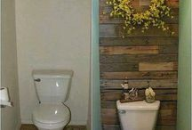 bathroom decor/ideas / by Jasmine Perez-Coste
