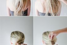 Ideas for when my Hair Gets Long / by Mrs. Hohum