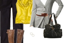 yellow-and-gray obsession! / by Anna Keyes