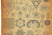 Sacred Geometry / Geometria Sagrada / by Clara Schwint