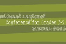 Midwest Conference for Grades 3-5 / This board highlights things I learned from a conference I attended. / by JoLynn Paul Plato