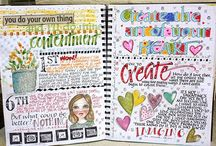 Art - Journal Inspiration / by Debra Shaw