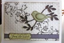 bird punch cards / by Germaine Lenn