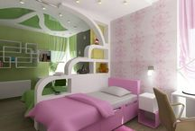 Girl bedroom / boy and girl in the same room / by Andreina Campins