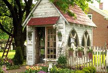 Garden Sheds / by Denise Mancini