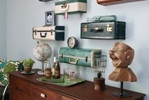Frugal Decor From Suitcases / by Frugal Decorating Diva