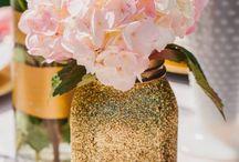 Gold Wedding Decoration Ideas / by My Wedding Reception Ideas