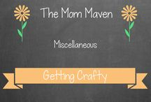 Getting Crafty / Craft projects I have or would like to tackle / by Cindy Schultz-TheMomMaven.com