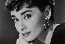 Alluring Audrey / Actress, philanthropist. Born on May 4, 1929, in Brussels, Belgium. A talented performer, Audrey Hepburn was known for her beauty, elegance, and grace. Often imitated, she remains one of Hollywood's greatest style icons. Audrey Hepburn n'était pas seulement belle. A mon sens, elle incarne l'élégance et la spontanéité féminine. Enfin, je l'aime ! / by Gary Schmidt