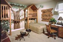 boy  rooms / by Patricia Huebbe