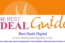 The Best Deal Guide / Best UK Deals|Best Deals Online|Discount Voucher Codes|Discount Websites|Best Saving Deals|Best Deals on the internet www.thebestdealguide.com / by The Trusted Beauty Guide