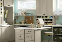 Craft Room / Office Space / by Jody Guenthner Olson