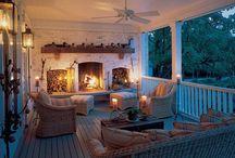 awesome porch / by Stephanie Lents Quarnstrom