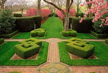 gardens & landscapes / by Angie Helm Interiors