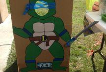 ninja turtle birthday / by Heather Thomas