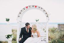 Pew End & Aisle Decor / by Whimsical Wonderland Weddings