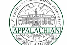 Appalachian School of Law / For students who love the outdoors and dream of service to their families, friends, clients, and communities.  / by Appalachian School of Law