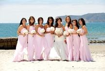 bridesmaids / bridesmaid bouquets and gowns / by Embellishmint Floral + Event Design Studio