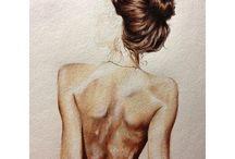 to draw  / by Gabi Delmonte