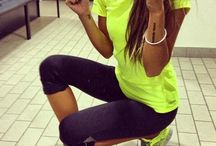 workout clothes  / by Shelly Zimmerman Northway