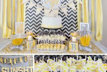 Brittany's baby shower / by Shayla Fowler