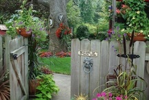 Garden Gates / Who knew garden gates could be so cool? / by Mavis Butterfield