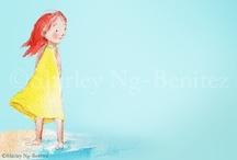 People / by Shirley Ng-Benitez Illustration