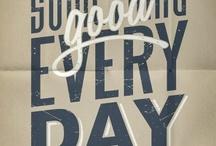 Typography / by Kristin Kokkersvold