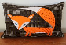 What does the fox say? Ch-ching ch-ching / Fox themed kids decor / by Lifeblooming.com