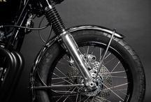 cafe racers / motorbikes / by j. frede