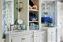 Interior Design: Bathrooms / bathroom ideas and decor / by Katie Grabner