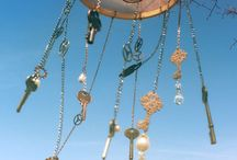 Windchimes / Pretty Ways to Hear the Wind & Hanging Notions ♥ Please keep Photographer, Artist or Vendor credits with photos when repinning. Thank you.  / by bcr8tive
