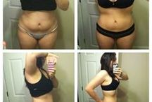Weight loss before and after / by Carly Williams