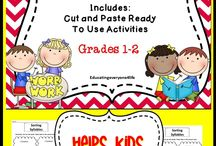 {Classroom Literacy} Syllables / by Heather Mix