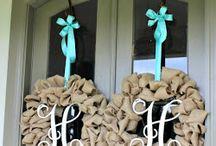 Wreaths / by Courtney Hood