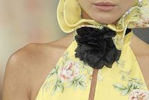 Fashion Blooms / Floral or flower inspired fashion / by Marguerite Bellangue