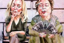 caricatures / by Mary Miller