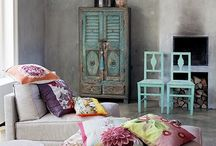 Home makeover - A touch of Boho style / Bohemian chic home decor / by Sara Arduini