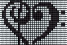 Minecraft!!! tarafından / Minecraft pixel art and other projects/Rosie Glover