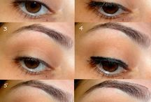 Ways to do eyeshadow for Brown eyes / by Donlyn Starr