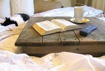 my tiny pallethouse loft bedroom / by yolonda nicole