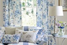 Blue Home Decor ~ / by Kimberly Keith Stanley
